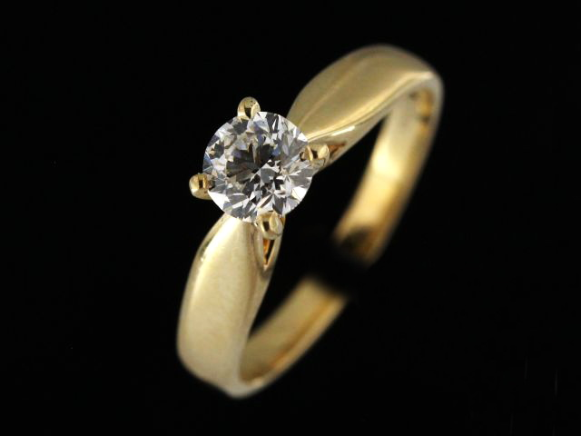 0.70 ct SI2 G Engagement Ring