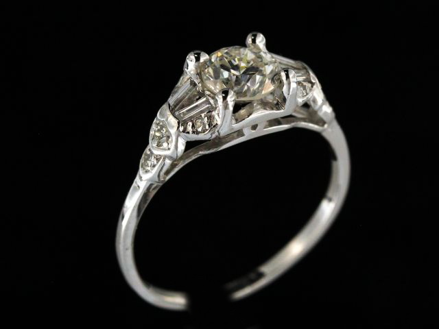 0.90 ct Engagement Ring