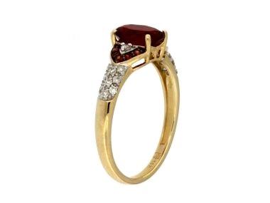 14KT Fire Opal Ring