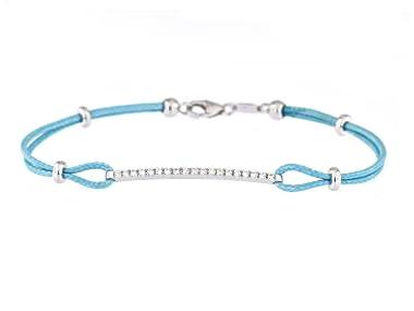 Diamond Cord Bracelet