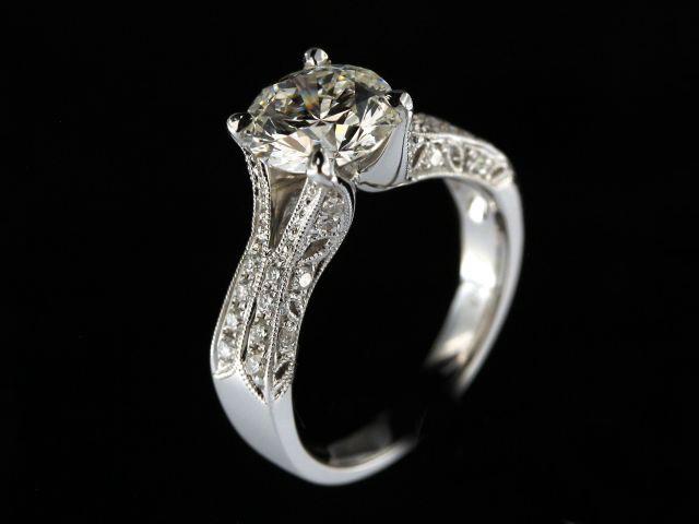 2.12 Ct Diamond Engagement Ring
