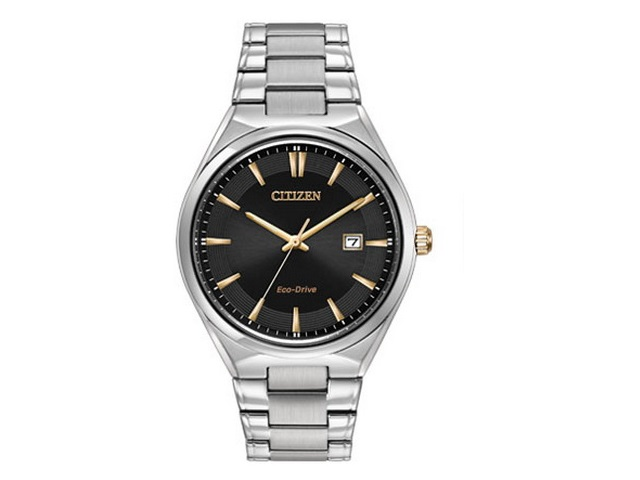 Gents Charcoal Dial Eco-Drive