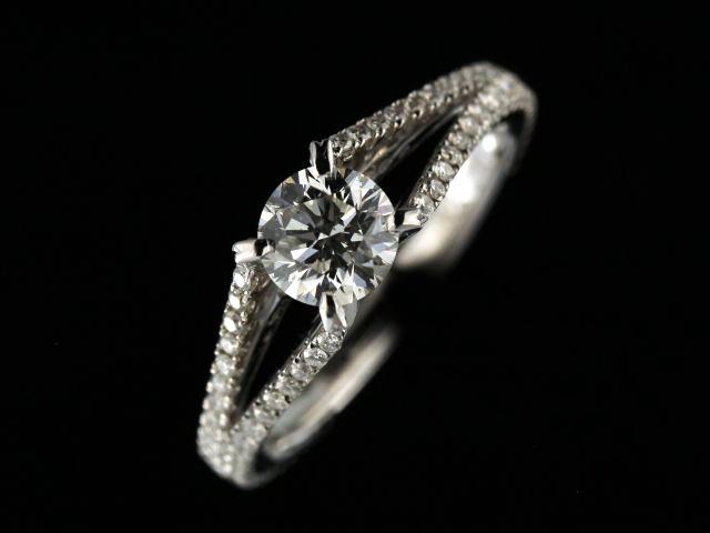 0.71 Ct Diamond Engagement Ring