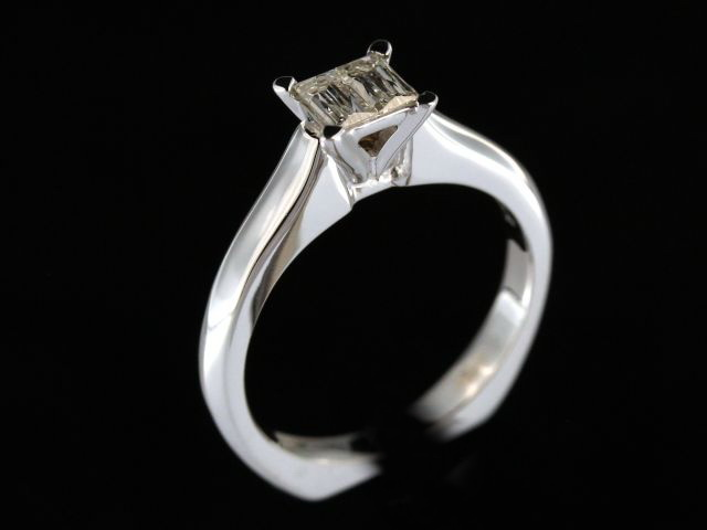 0.36 cts Mirage Duet Diamond Ring