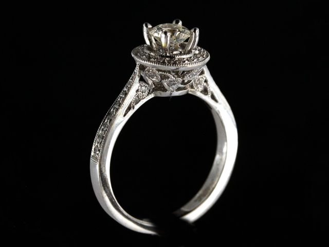 0.56 Ct Diamond Engagement Ring