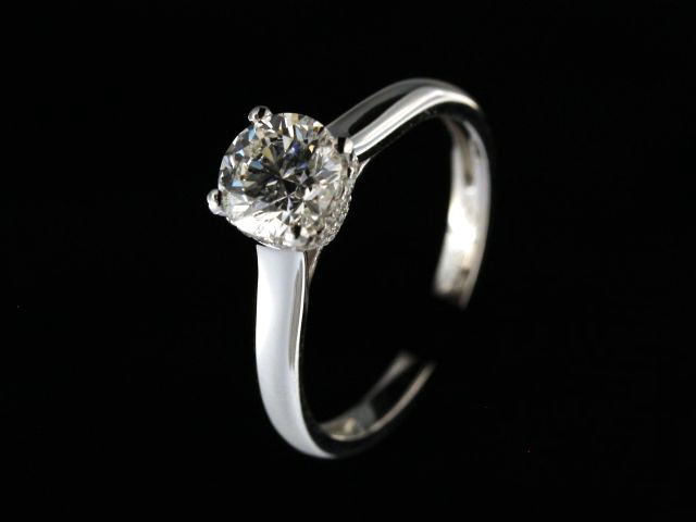 1.26 ctw Engagement Ring