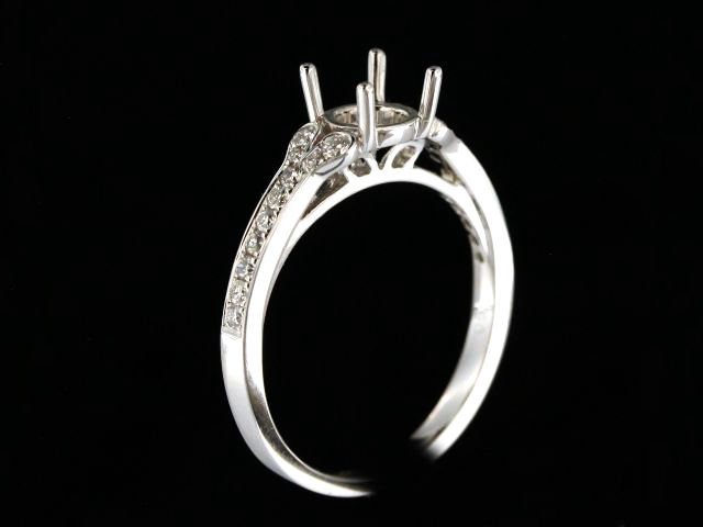 18KW Engagement Mount 0.27cts