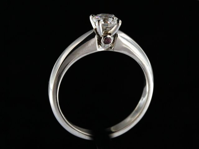 14KT 0.51ct Engagement Ring