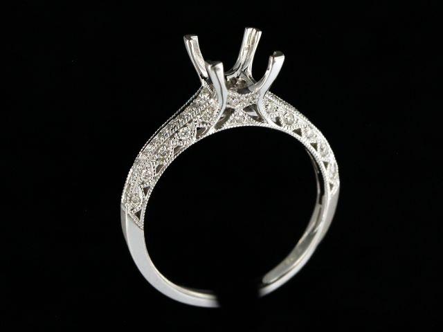 Diamond Engagement Mount