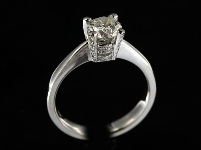 0.99 ct Engagement Ring