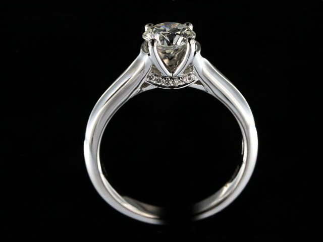 0.93 ct Engagement Ring