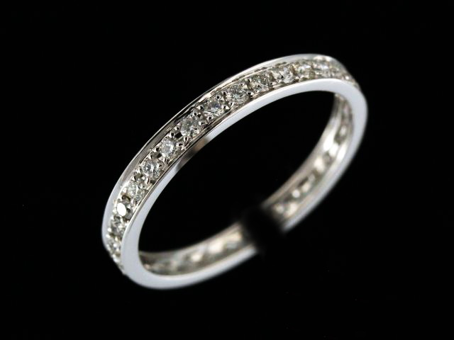 18KT Eternity Band