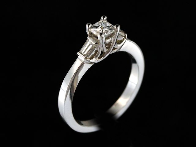 0.56ctw Diamond Engagement Ring