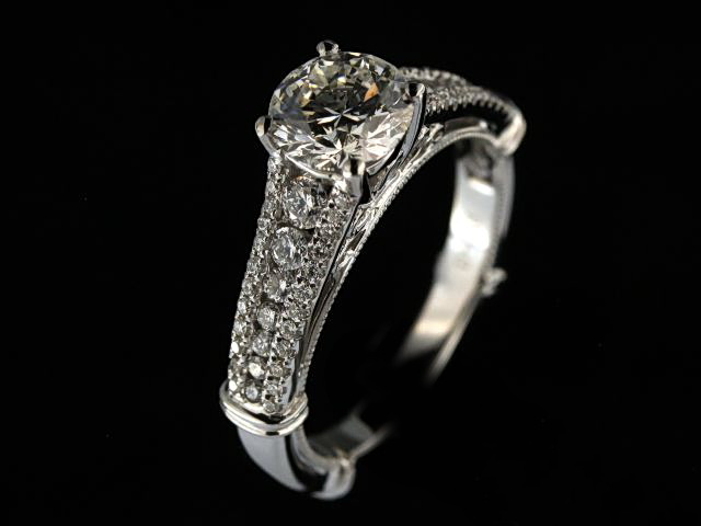 1.67 ctw Engagement Ring