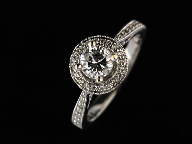 0.64 Ct Diamond Engagement Ring