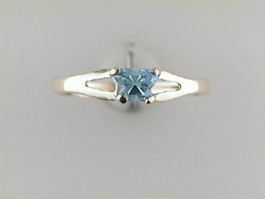 10ky December Butterfly Ring