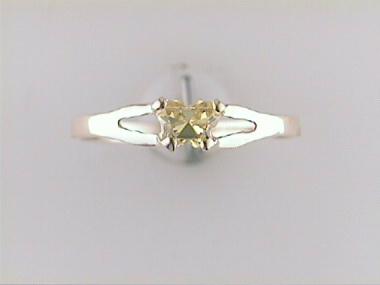 10ky November Butterfly Ring
