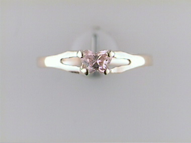 10ky October Butterfly Ring