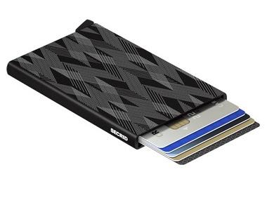 Black Zigzag Card Protector
