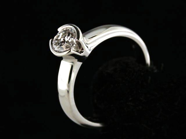 0.70 Ct Solitaire Engagement Ring