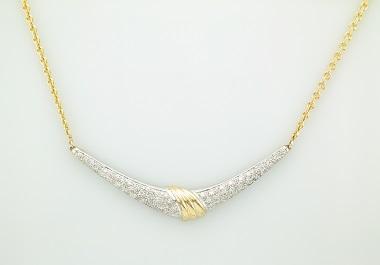 14KT Diamond Necklace