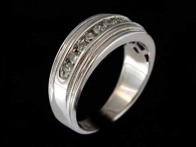 Gents Diamond Band