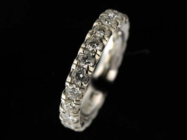14KT Eternity Band with 1.40 cts