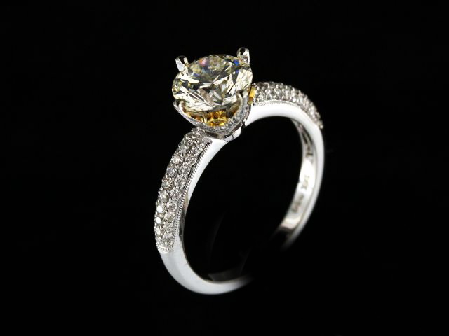 1.59 Ct Diamond Engagement Ring