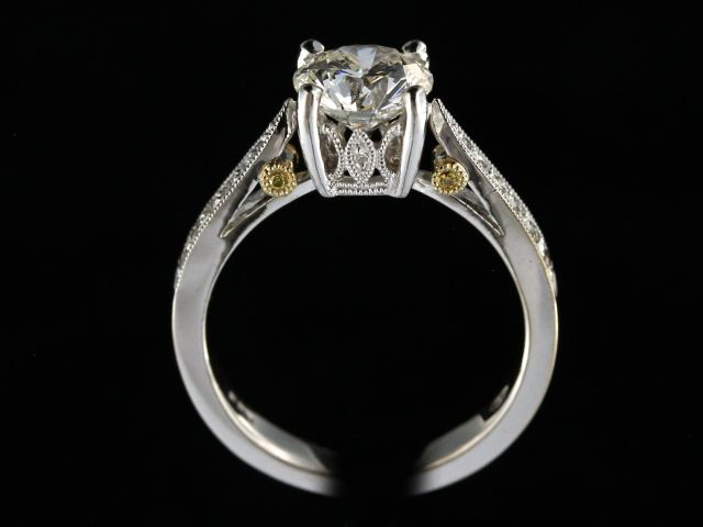 1.50 Ct Ideal Cut Diamond Ring