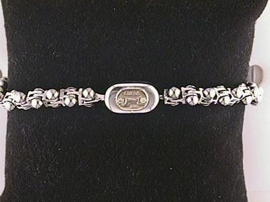 Sauro Steel / 18kt Bracelet