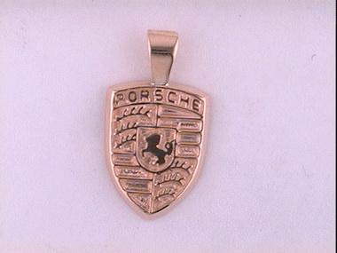 14ky Porsche Pendant
