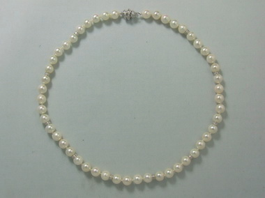 Akoya Pearl Strand With Roundels