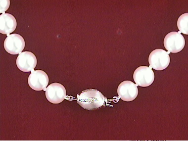 Freshwater Stand With 14kt Clasp 8.5-9mm