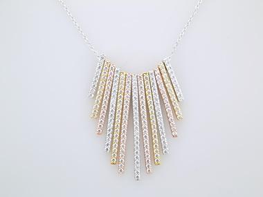 Tri-colour Necklace