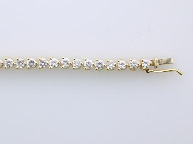 14KT Tennis Bracelet