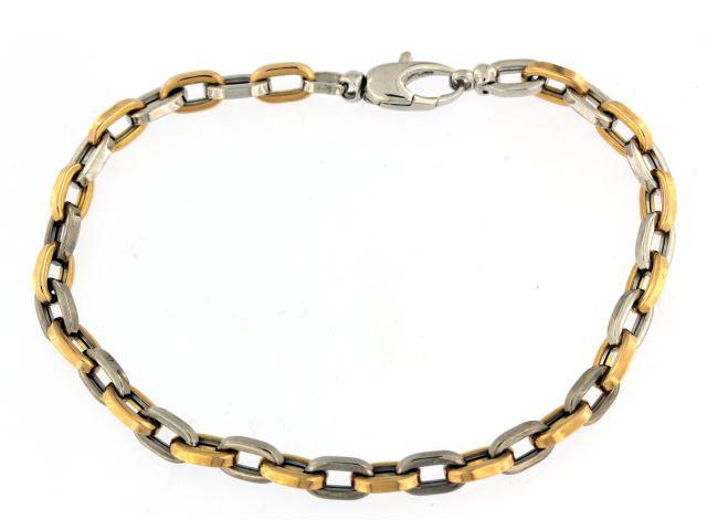 White & Rose Mariner Bracelet
