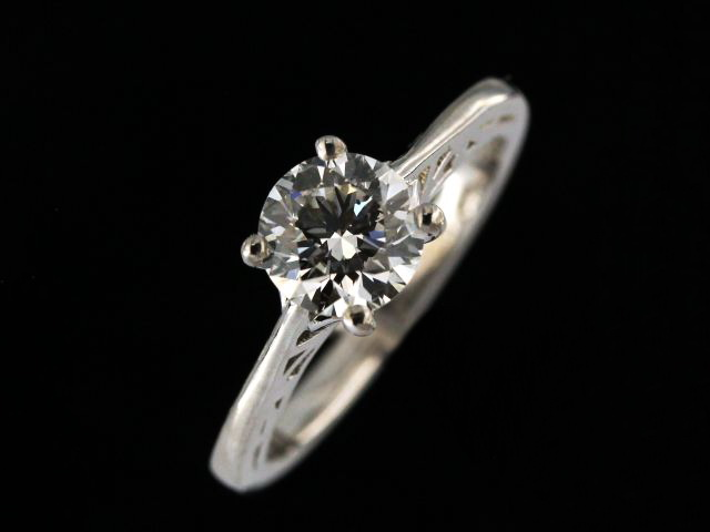 1.21 ct Engagement Ring