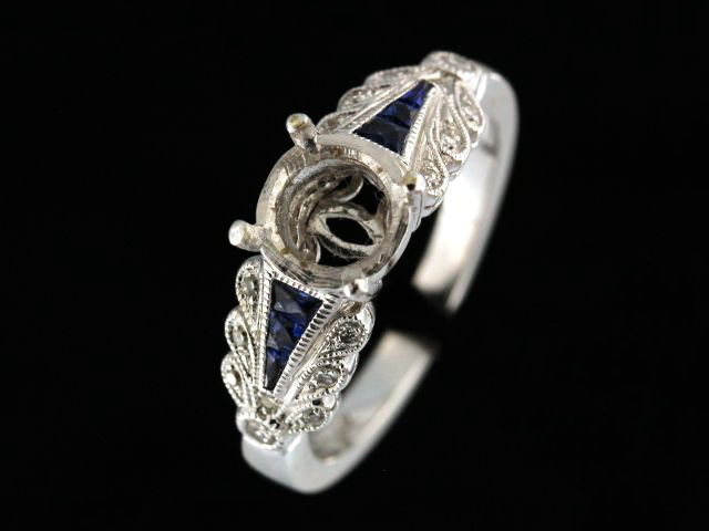 Sapphire & Diamond Mount
