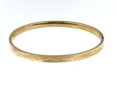 14KT Bangle Bracelet