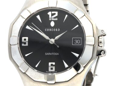 Concord Saratoga Quartz Watch