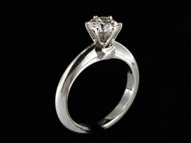 0.84 SI1 I Tiffany Ring