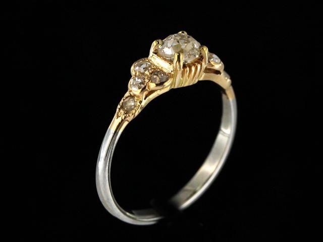 0.50 ctw Old Mine Cut Ring
