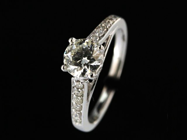 0.99 ctw Engagement Ring