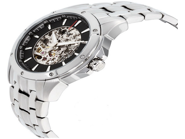 Bulova Skeleton Automatic Gents Watch