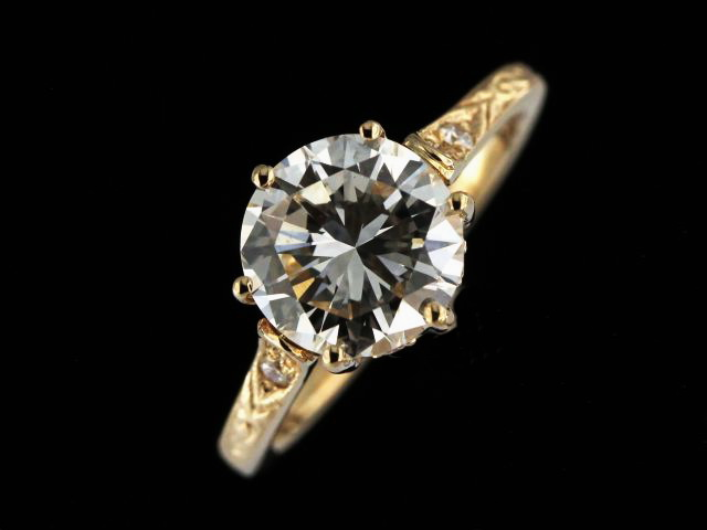 14KY 1.96 ctw Diamond Ring