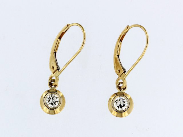 0.40 ctw French Back Earrings