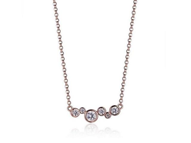 Rose Bubbles Necklace