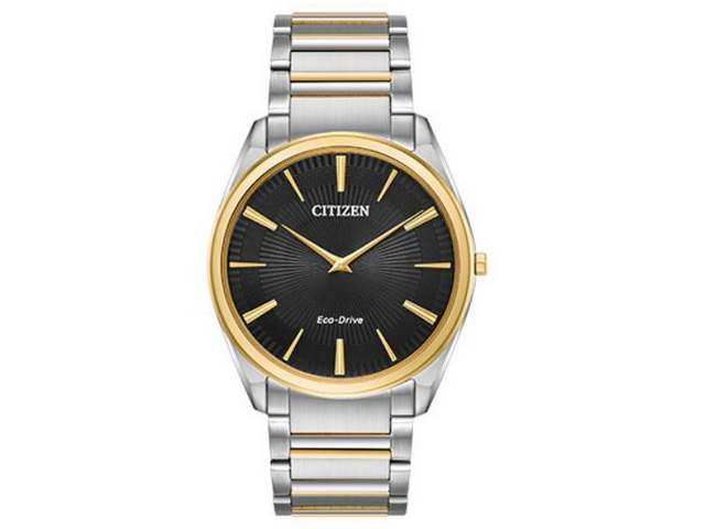 Gents Two-tone Stiletto Eco-Drive