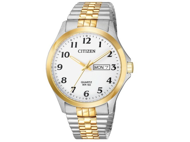 Gents Two-tone Citizen Quartz Watch