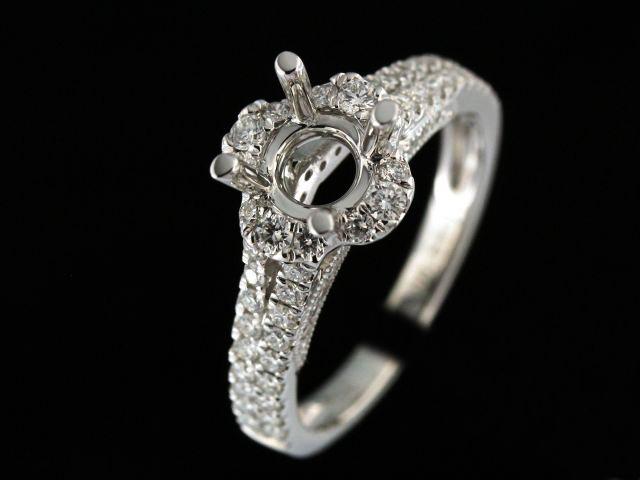 Diamond Engagement Ring Mount